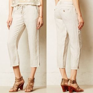 Anthropologie Sz 29 Marrakech Paden Linen Pants