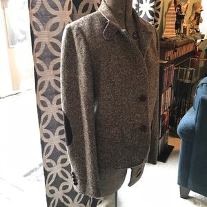J. Crew wool blazer with patches on elbows