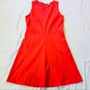 Coral J. Crew Dress