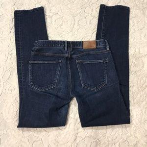 Madewell Skinny Jeans Sz 24 Dark Wash