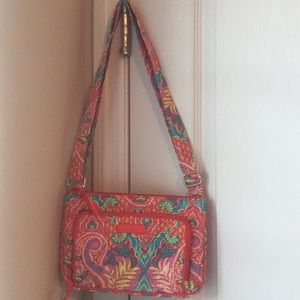 Vera Bradley Little Hipster in Paisley in Paradise