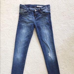 Zara Real Denim Sculpt Skinny Jeans