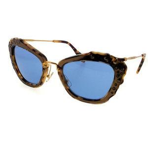 NEW GENUINE Miu Miu Cat Eye Sun Glasses