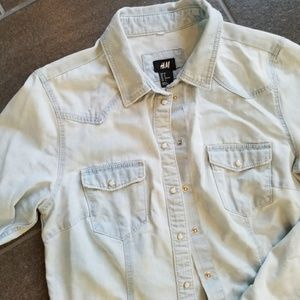 Pearl Snap Button Up