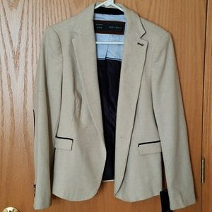 Zara blazer w/ elbow patch