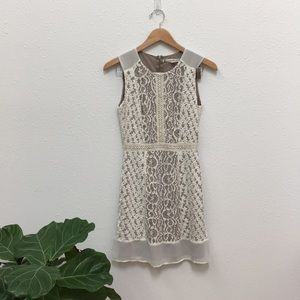 Nordstrom Embroidered Lace Dress