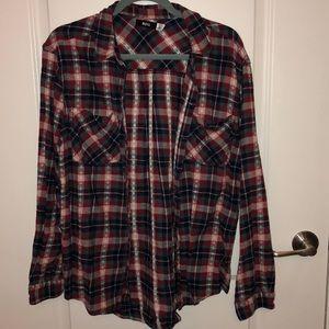 BDG boyfriend style flannel