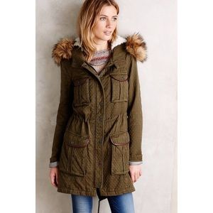 Anthropologie Hei Hei Lyman Anorak Coat