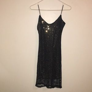 Sparkly Holiday New Years Dress Size Small