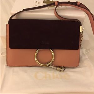 💯 % Authentic Chloe Faye medium size and BNWT