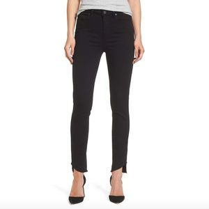 Paige Transcend Hoxton Undone Hem Skinny Jeans 26