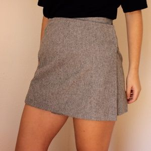 Vintage Express Wool Wrap Skirt