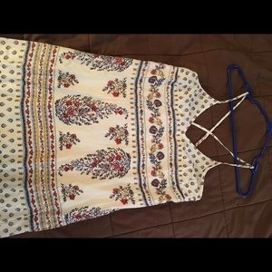 NWT Patterned Maxi Dress