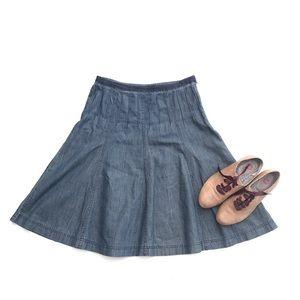 Boden Jean Skirt 10 (US size 6)