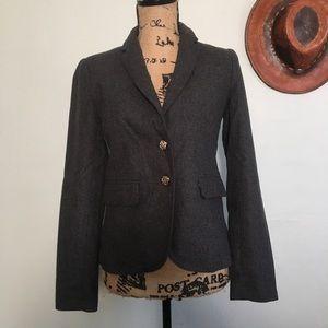 Forever 21 gray blazer jacket size small