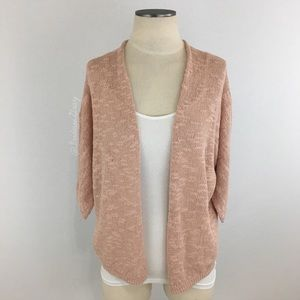 Old Navy- Dusty Pink Open Cardigan SZ S NWT