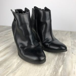 Dolce Vita Leather Ankle Booties