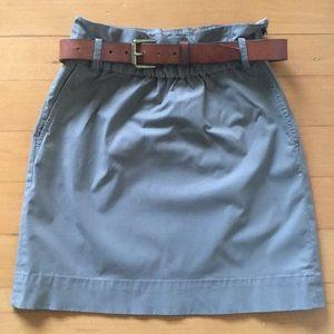 Banana Republic: Safari Perfect Cotton Skirt