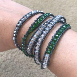 Like new Chan Luu 5 layer wrap bracelet beads