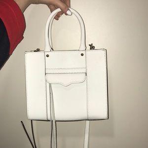 White Rebecca Minkoff crossbody purse