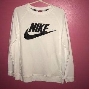 Nike white long sleeve!