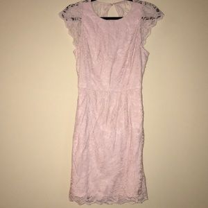 BRAND NEW-BCBGeneration Cap-sleeved Open-back lace