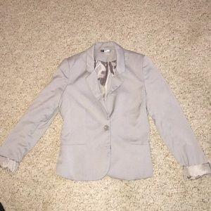 H&M Grey/Silver Blazer
