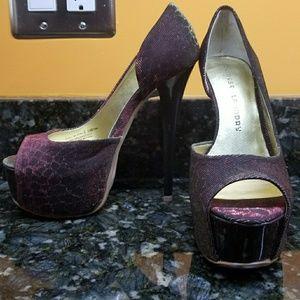 Chinese Laundry peep toe heels size 6- new