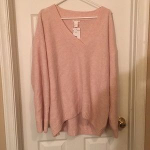 Pink H&M Oversized Sweater