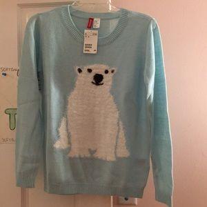 Polar Bear H&M long sleeve shirt