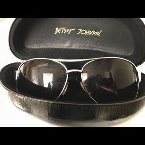 Betsey Johnson Aviator Style Sunglasses