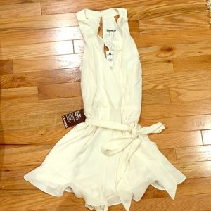 Express Off-White Romper New with Tags Size 4