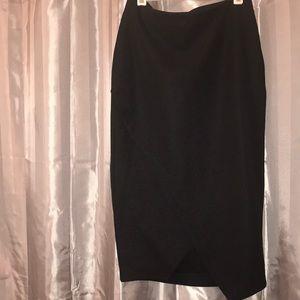 Crossover Midi Skirt