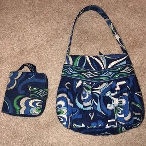 Vera Bradley small purse with matching wallet
