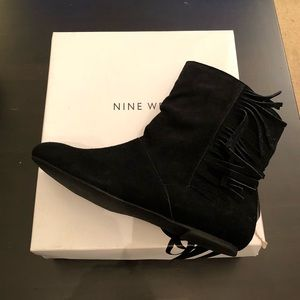 Nine West Suede Midi Boots