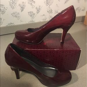 Maroon Madden girl heels
