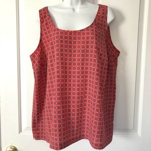 Old Navy 2X Multicolor pattern Tank top