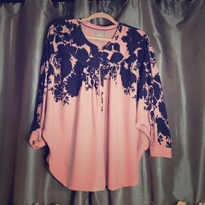 Anthropologie MAEVE Batwing Blouse Large NWT