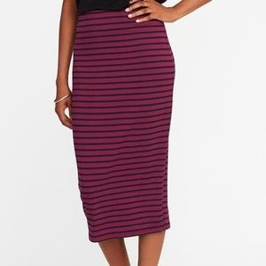 {Old Navy} knit midi pencil skirt