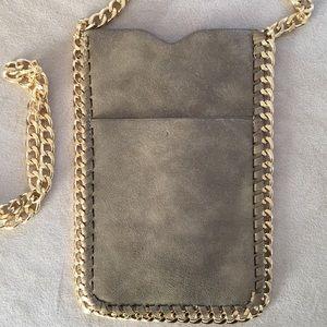 Handbags - NWT new suede crossbody bag