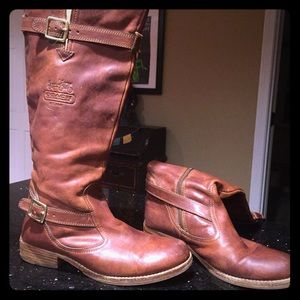 Whitley Coach Boots