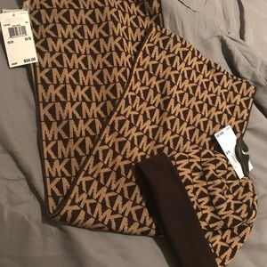 Michael Kors hat and scarf set