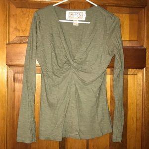 OD Green Organic Cotton Long Sleeve Shirt Size M