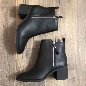 H&M faux leather booties PERFECT CONDITION