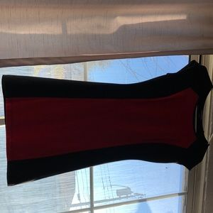 Black-red dress from Express
