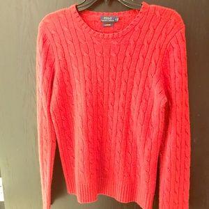 Ralph Lauren 100% Cashmere Sweater. Worn once.