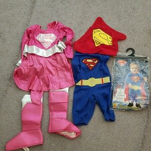 Other - Superman baby costume/ supergirl toddler costume