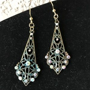 Filigree Sparkly Earrings