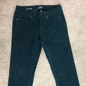 LOFT Pants - Ann Taylor Loft Modern Straight Corduroy Pant