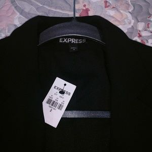 NWT black Express blazer 2